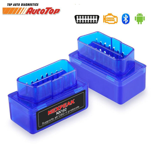 Obd 2 Elm327 Obd2 Bluetooth Adapter Elm 327 V1.5 Auto Diagnostic Scanner For Cars Android-Car Repair Tools-AutoTop Store-Blue-EpicWorldStore.com