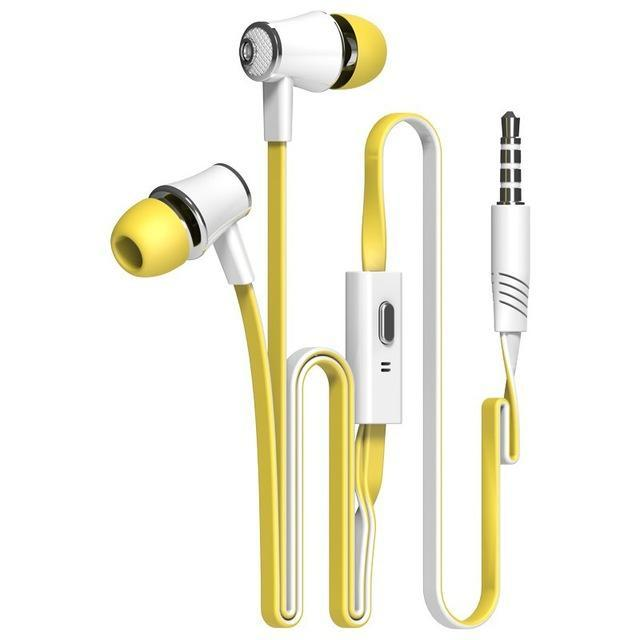 Official Original Langsdom Jm21 In-Ear Earphone Colorful Headset Hifi Earbuds Bass Earphones High-Portable Audio & Video-Langsdom Wholesales Shopping Store-green and yellow-EpicWorldStore.com