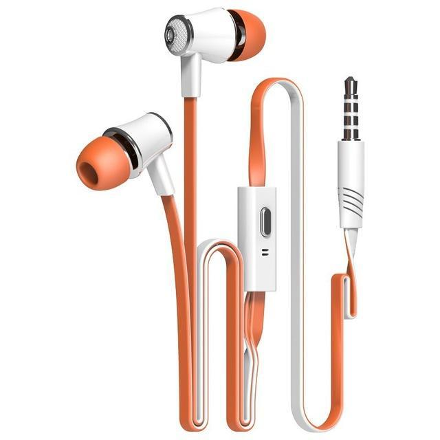 Official Original Langsdom Jm21 In-Ear Earphone Colorful Headset Hifi Earbuds Bass Earphones High-Portable Audio & Video-Langsdom Wholesales Shopping Store-orange-EpicWorldStore.com