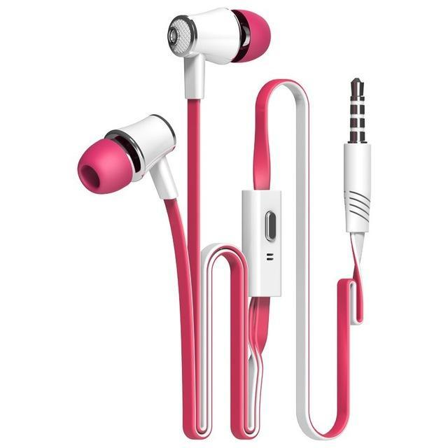 Official Original Langsdom Jm21 In-Ear Earphone Colorful Headset Hifi Earbuds Bass Earphones High-Portable Audio & Video-Langsdom Wholesales Shopping Store-pink-EpicWorldStore.com