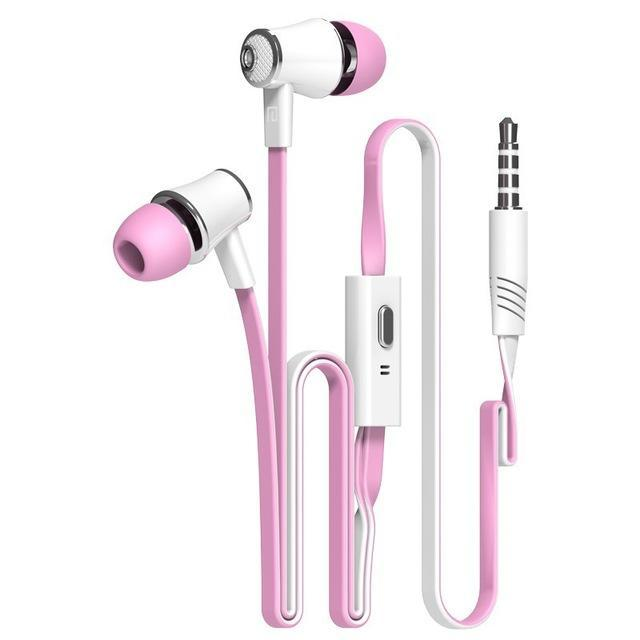 Official Original Langsdom Jm21 In-Ear Earphone Colorful Headset Hifi Earbuds Bass Earphones High-Portable Audio & Video-Langsdom Wholesales Shopping Store-rose red-EpicWorldStore.com