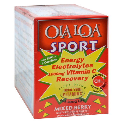 Ola Loa Sport Mixed Berry - 30 Packets-Eco-Friendly Home & Grocery-Ola Loa Products-EpicWorldStore.com