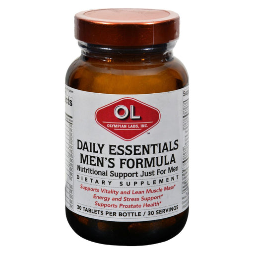 Olympian Labs Mens Daily Essentials - 30 Tablets-Eco-Friendly Home & Grocery-Olympian Labs-EpicWorldStore.com