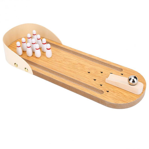 One Set Children Table Mini Bowling Game Wooden Interactive Entertainment Desktop Decoration Board-Bowling-Outdoor Travel Shop Store-EpicWorldStore.com