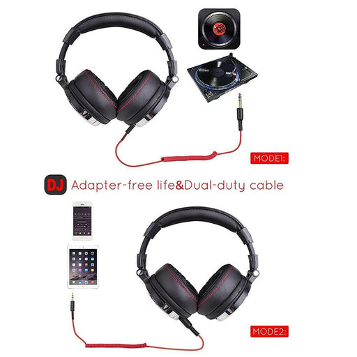 Oneodio Professional Studio Dj Headphones With Microphone Over Ear Wired Hifi Monitors Headset-Headphone/Headset-OneNona Store-Studio-Pro-EpicWorldStore.com