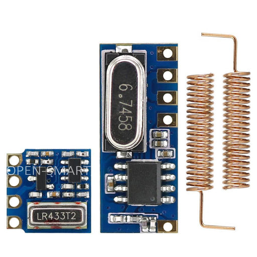 Open-Smart Long Range 433Mhz Wireless Transceiver Kit Mini Rf Transmitter Receiver Module + 2Pcs-Industrial Computer & Accessories-OPEN-SMART Official Store-EpicWorldStore.com