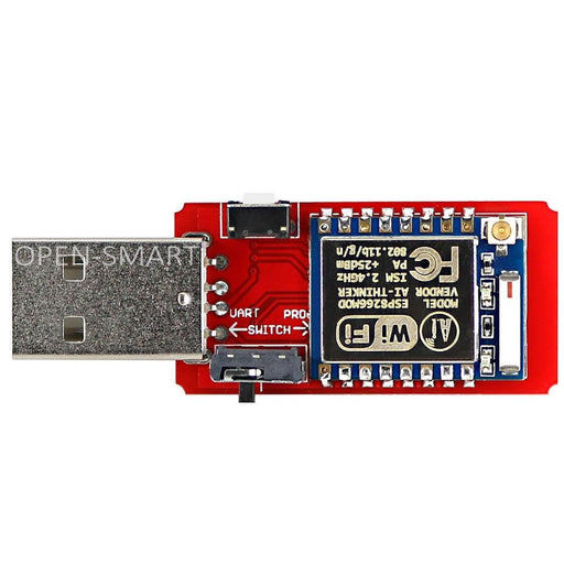 Open-Smart Usb To Esp8266 Esp-07 Wi-Fi Module Built-In Antenna 2.4G Serial Transceiver For Esp-07-Industrial Computer & Accessories-OPEN-SMART Official Store-EpicWorldStore.com