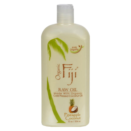 Organic Fiji Virgin Coconut Oil Pineapple - 12 Fl Oz-Eco-Friendly Home & Grocery-Organic Fiji-EpicWorldStore.com