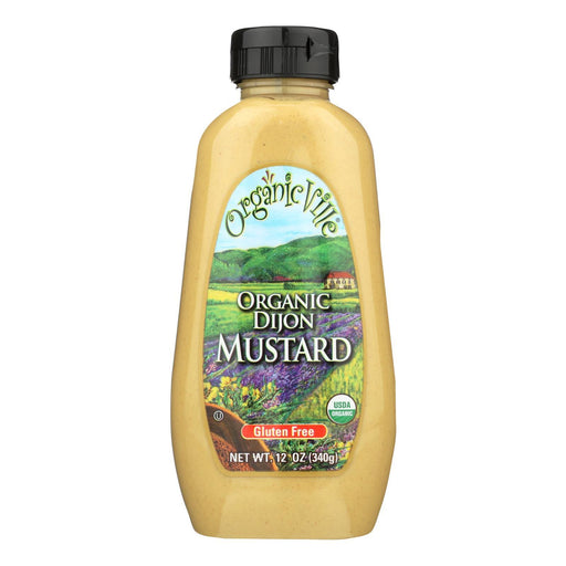 Organic Ville Stone Ground Organic - Mustard - Case Of 12 - 12 Oz.-Eco-Friendly Home & Grocery-Organicville-EpicWorldStore.com
