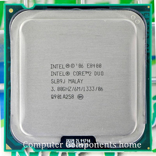 Original Intel Core 2 Duo E8400 Cpu Core 2 Duo Processor E8400 (3.0Ghz/ 6M /1333Ghz) Socket 775-Computer Components-CPU WORLD Store-EpicWorldStore.com