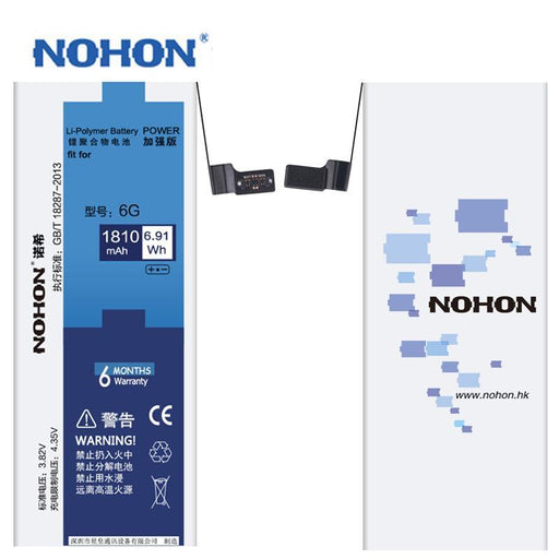 Original Nohon Li-Ion Battery For Apple Iphone 6 6G Bateria Replacement Batteries Batarya Real-Mobile Phone Parts-Nohon official store-EpicWorldStore.com