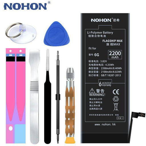 Original Nohon Phone Battery For Apple Iphone 6 6G Replacement Lithium Polymer Batteries-Mobile Phone Parts-Nohon OfficialFlagship Store-EpicWorldStore.com