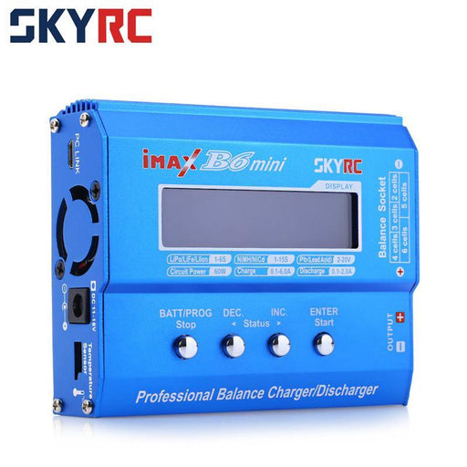 Original Skyrc Imax B6 Mini 60W Balance Charger Discharger For Rc Helicopter Nimh Nicd Aircraft-Accessories & Parts-SHENZHEN OKQI TECHNOLOGY CO., LTD.-Only B6 Charger-EpicWorldStore.com