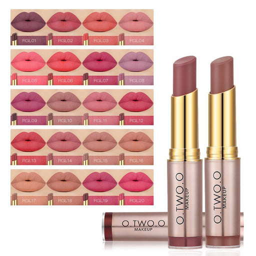 O.Two.O Brand Wholesale Beauty Makeup Lipstick Popular Colors Best Seller Long Lasting Lip Kit Matte-Makeup-O.TWO.O Official Store-N9095A1-EpicWorldStore.com