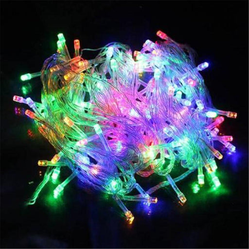 Outdoor Christmas Led String Lights 100M 50M 30M 20M 10M 2M Decorative Fairy Light Holiday Lights-Holiday Lighting-ProfessionalLED Store-Blue-5M 40LED EU 220V-EpicWorldStore.com
