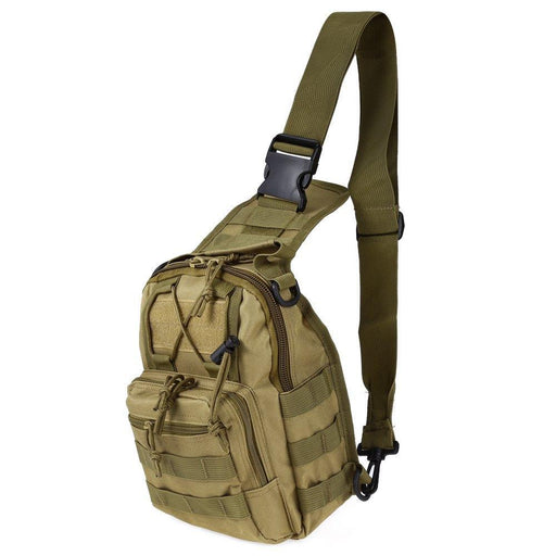 Outdoor Sport Bag Military Tactical Backpack Tactical Messenger Shoulder Bag Oxford Camping Travel-Camping & Hiking-Healthy Travel Store-KHAKI-EpicWorldStore.com