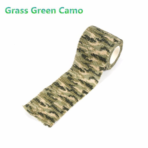 Outdoor Tactical Army Camo Elastic Tape Bandage Wrap 4.5M Hunting Shooting Stealth Camouflage-Hunting-Super Online Technology Co., Ltd-ACU Camo-EpicWorldStore.com