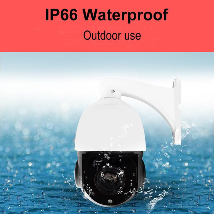 Outdoor Waterproof Poe Ptz Ip Camera H 265 H 264 5Mp 4Mp Speed Dome Network  Onvif Poe Ip Ptz