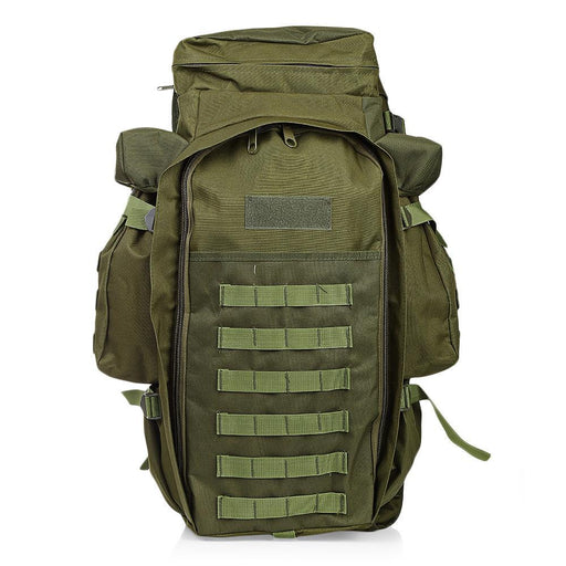 Outlife 60L Outdoor Military Backpack Pack Rucksack For Hunting Shooting Camping Trekking Hiking-Camping & Hiking-World Peace-army green-EpicWorldStore.com