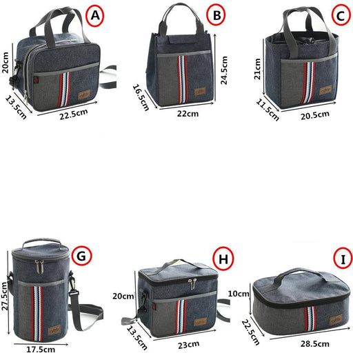 Oxford Thermal Lunch Bag Insulated Cooler Storage Women Kids Food Bento Bag Portable Leisure-Functional Bags-mihawk Official Store-A-EpicWorldStore.com