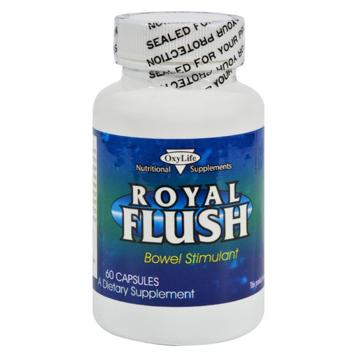 Oxylife Royal Flush - 60 Capsules-Eco-Friendly Home & Grocery-Oxylife Products-EpicWorldStore.com