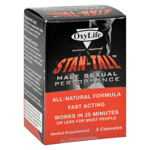Oxylife Stan-Tall Male Sexual Performance - 3 Capsules-Eco-Friendly Home & Grocery-Oxylife Products-EpicWorldStore.com