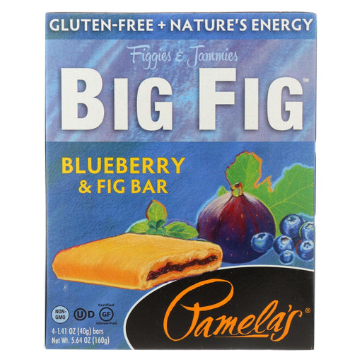 Pamela'S Products - Gluten-Free Big Fig Bar - Blueberry And Fig - Case Of 8 - 5.64 Oz.-Eco-Friendly Home & Grocery-Pamela's Products-EpicWorldStore.com