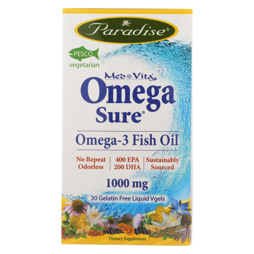 Paradise Herbs Omega - 30 Vcap-Eco-Friendly Home & Grocery-Paradise Herbs-EpicWorldStore.com