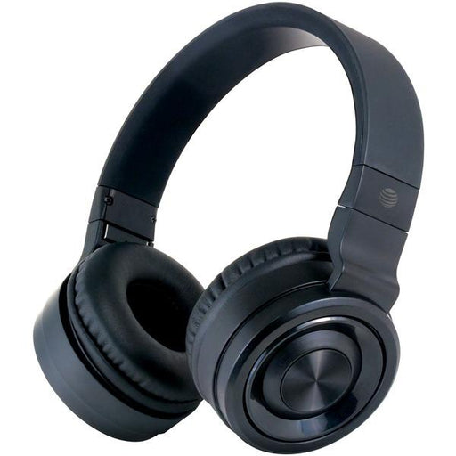 Pbh20 Stereo Over-Ear Headphones With Bluetooth(R) (Black)-Portable & Personal Electronics-AT&T(R)-EpicWorldStore.com