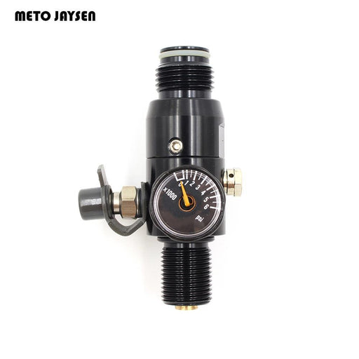 Pcp Paintball Airsoft Hpa Tank Regulator Valve M18*1.5 Thread Black 4500Psi-Shooting-TodaySports Store-850psi output-EpicWorldStore.com