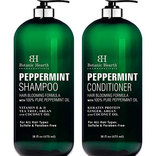 Peppermint Oil Shampoo And Conditioner Set -Home Essentials-Amazon-EpicWorldStore.com