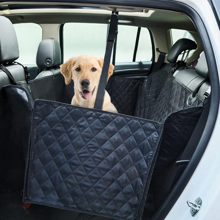 Pet Car Seat Covers For Big Dogs Back Bench Interior Travel Dog Accessories