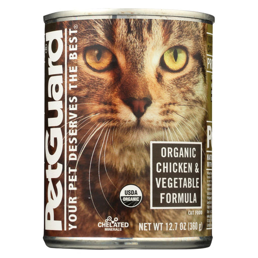 Petguard Cats Food - Organic Chicken And Vegetable - Case Of 12 - 12.7 Oz.-Eco-Friendly Home & Grocery-Petguard-EpicWorldStore.com