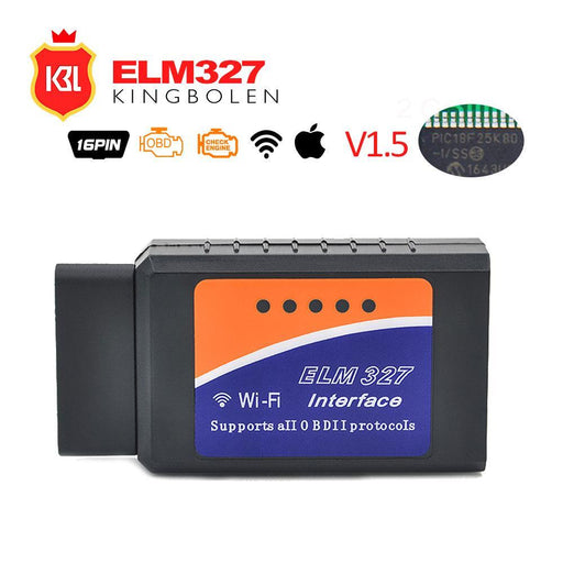 Pic18F25K80 Chip Elm327 V1.5 Bluetooth/Wifi Obd2 Car Diagnostic-Tool Elm 327 Code Reader Scan-KINGBOLEN Store-ELM327 WIFI-EpicWorldStore.com