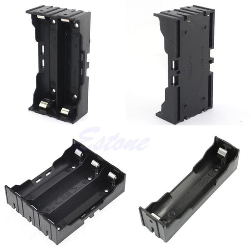 Plastic Battery Case Holder Storage Box For 18650 Rechargeable Battery 3.7V Diy-Accessories & Parts-WuWuDian Store-Battery Holder for1-EpicWorldStore.com