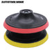 Polish Pad Bonnet Polisher Buffer Wheel Disc Fit Angle Grinder Sander Sticky Adhesive Disk Sander-Abrasive Tools-In-Tool-Home Trusted tool mall !-EpicWorldStore.com