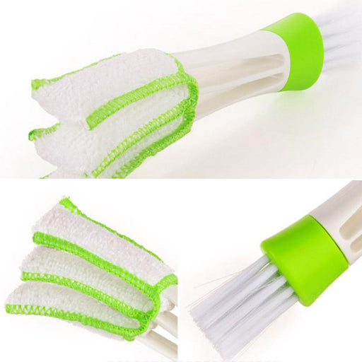 Portable Double Ended Car Air Vent Slit Cleaner Brush Dusting Blinds Keyboard Cleaning Brushes Dxy88-Car Wash & Maintenance-Toptech Alone-EpicWorldStore.com