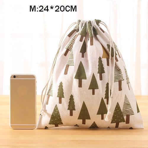 Portable Drawstring Bags Girls Shoes Bags Women Cotton Travel Pouch Storage Clothes-Functional Bags-UniStyle Bag Store-M5-EpicWorldStore.com