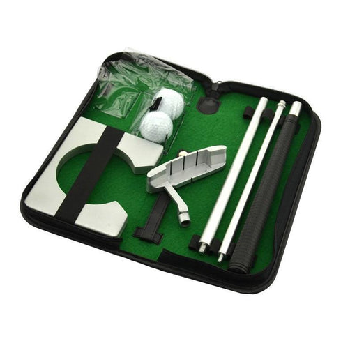 Portable Golf Putter Practicee Set Travel Indoor Golfs Ball Holder Putting Training Aids Tool With-Golf Training Aids-B2C Shop 88 Store-as shown-EpicWorldStore.com