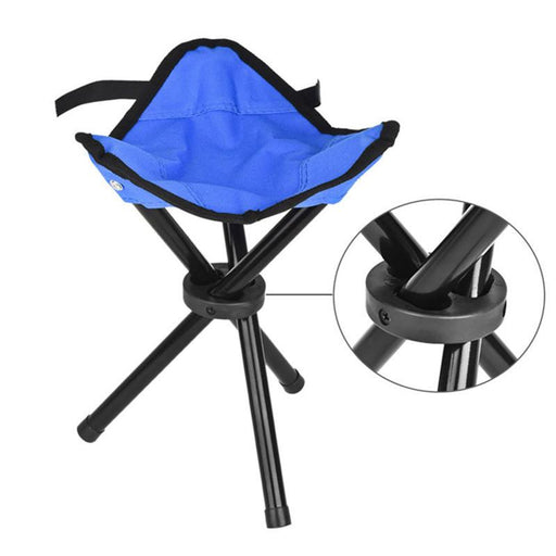 Portable Light Weight Folding Camping Hiking Folding Foldable Stool Tripod Chair Seat For Fishing-xenon30-EpicWorldStore.com