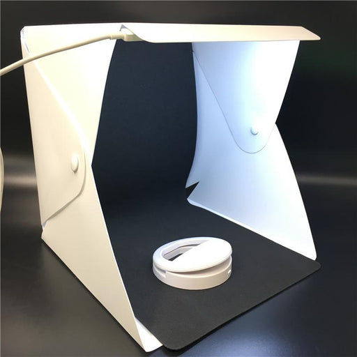 Portable Lightbox Mini Softbox Led Photo Studio Folding Light Box Room Photography Backdrop Light-Camera & Photo-YZY Wholesales Store-Magnetic type-EpicWorldStore.com