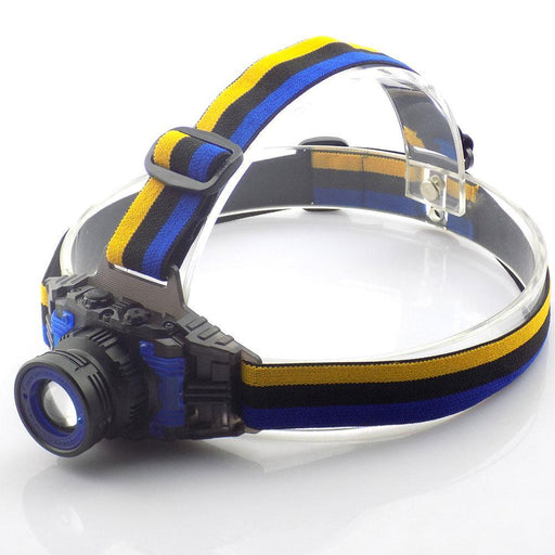 Powerful Q5 Headlamp Rechargeable Zoomable Focus Frontale Led Head Lamp Flashlight Torch Headlight-Portable Lighting-HF TECH HOM Store-EpicWorldStore.com