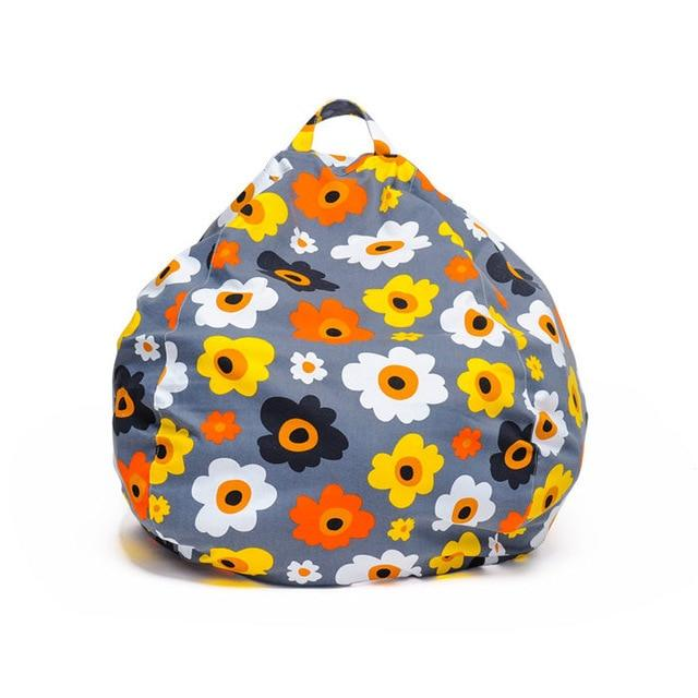 Fabulous Printed Kids Bean Bag Chair Cover No Fillers Lazy Beanbag Sofa Puff Bed Bedroom Living Room Ibusinesslaw Wood Chair Design Ideas Ibusinesslaworg