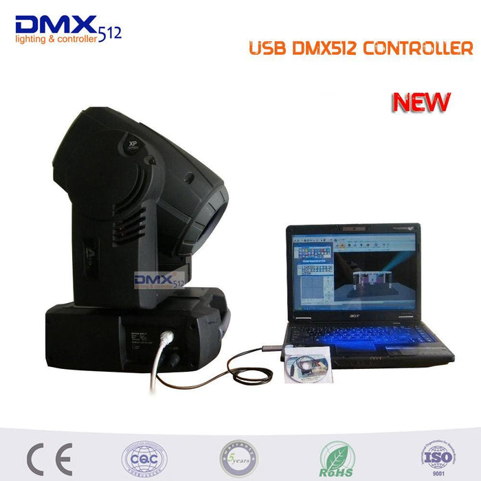 Promotion!!! Led Dmx512 Computer Pc Stage Lighting Controller Dimmer Usb To  Dmx Interface Adapter