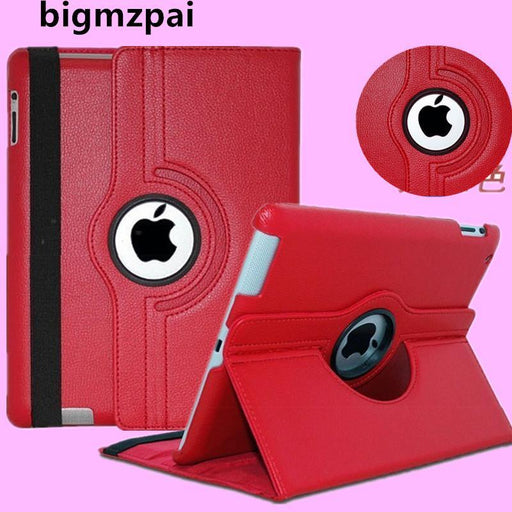 Pu Leather 360 Rotating Protector Cover Smart Stand Case Cover For Apple Ipad 2 Ipad 3 Ipad 4 Tablet-Tablet Accessories-Nordson Digital-blue-EpicWorldStore.com