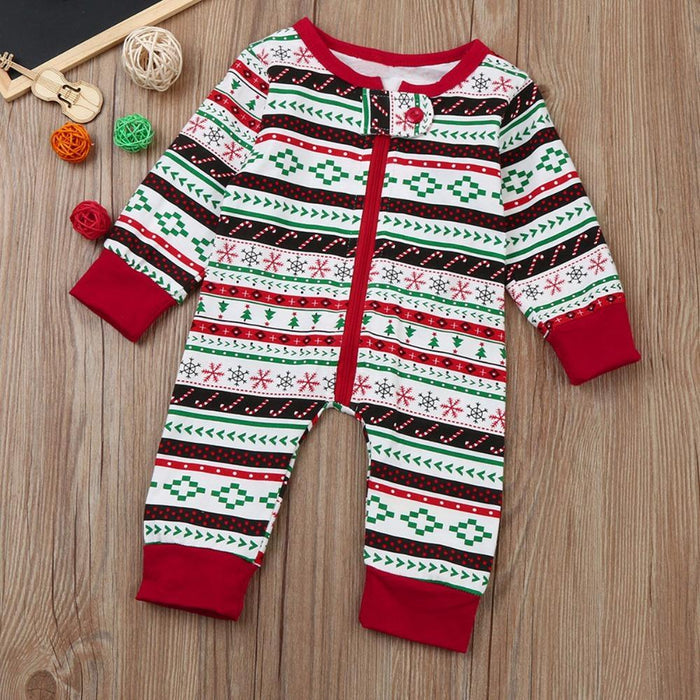 c78b5bc4f5 Puseky Family Christmas Pajama Kids Christmas Family Clothes For Brother  And Sister Clothes Jumpsuit-Family