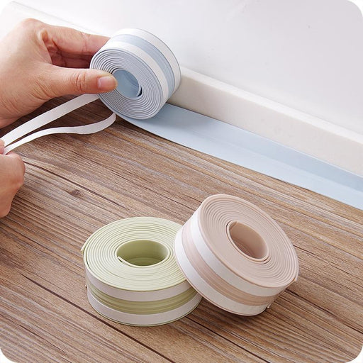 Pvc Waterproof Mildew Proof Adhesive Tape, Kitchen Sink Joint Crevice Sticker, Corner Line-Household Merchandises-vanzlife Daily Merchandises Store-3 260cm-EpicWorldStore.com