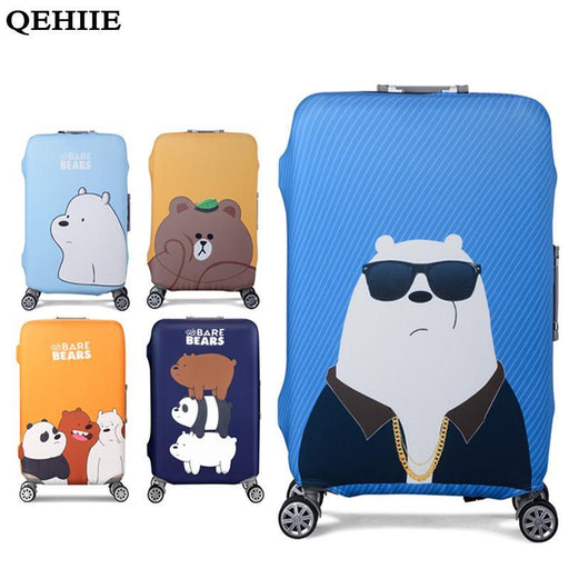 Qehiie Elastic Luggage Protective Cover For 19-32 Inch Trolley Suitcase Protect Dust Bag Case-Luggage & Travel Bags-QEHIIE Store-001-S-EpicWorldStore.com