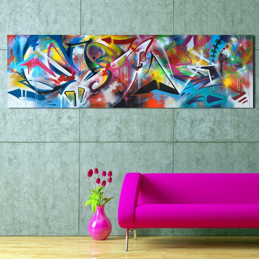 Qkart Wall Art Oil Paintings Abstract Picture Home Decor Canvas Print For Living Room Modern No-Painting & Calligraphy-QK ART Store-8x24-EpicWorldStore.com