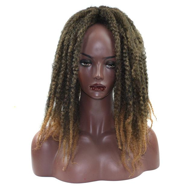 Qp Hair 20roots Crochet Braids Hair 18 Afro Kinky Twist Ombre